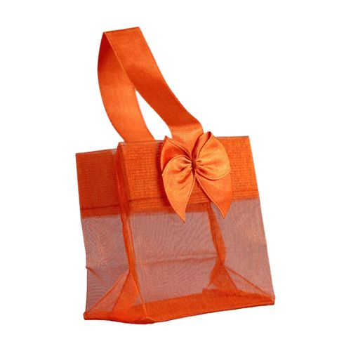 Sheer Tote W/Satin Handle - detailed view 7