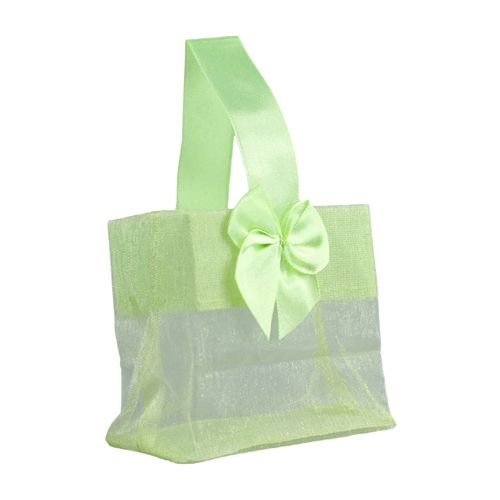 Sheer Tote W/Satin Handle - detailed view 8