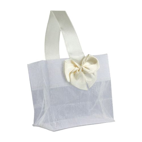 Sheer Tote W/Satin Handle - detailed view 11