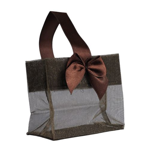 Sheer Tote W/Satin Handle - detailed view 14