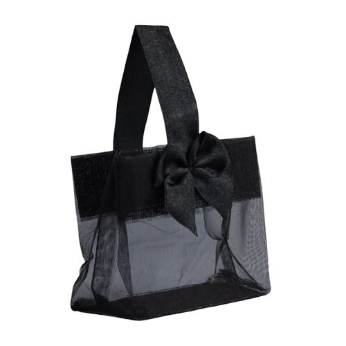 Sheer Tote W/Satin Handle - detailed view 16