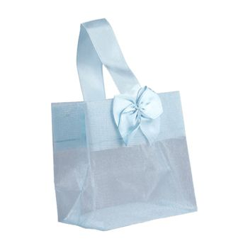 Sheer Tote W/Satin Handle - thumbnail view 9