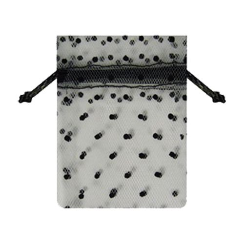 Tulle Bags W/ Swiss Dots - detailed view 1