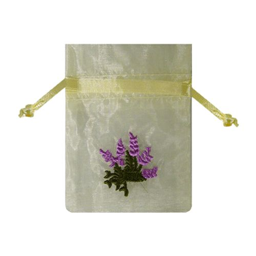 Embroidered Floral Bags - detailed view 2