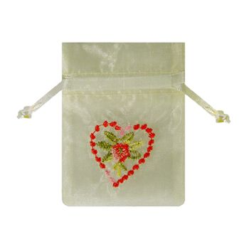 Embroidered Floral Bags - thumbnail view 1