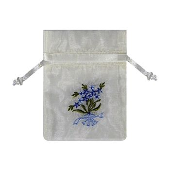 Embroidered Floral Bags - thumbnail view 3