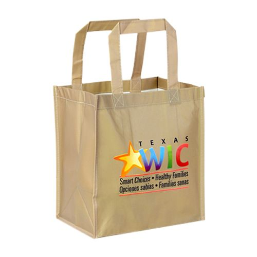 Custom Laminated PET Shopping Bags - detailed view 2
