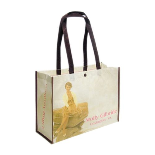 Custom Laminated PET Shopping Bags - detailed view 4