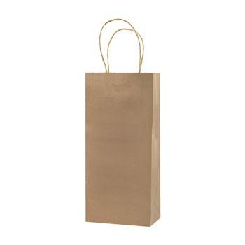 Recycled Natural Shopping Bags - thumbnail view 1