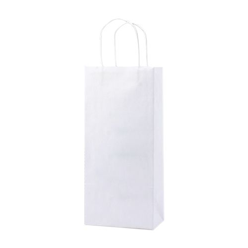Recycle White Shopping Bags - detailed view 1