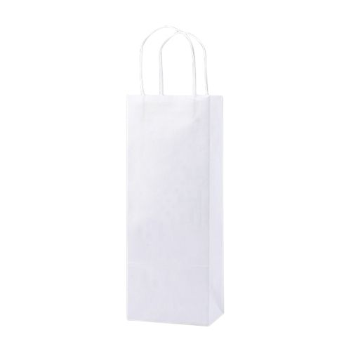 White Kraft Shopping Bags - detailed view 4