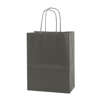 Solid Tinted Kraft Shopping Bags - thumbnail view 1