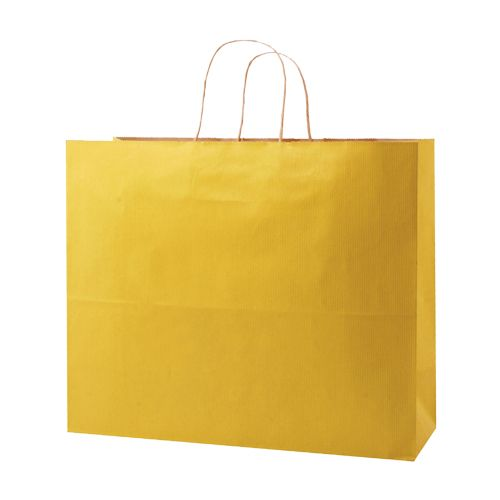 Stripped Tinted Kraft Shopping Bags - detailed view 9