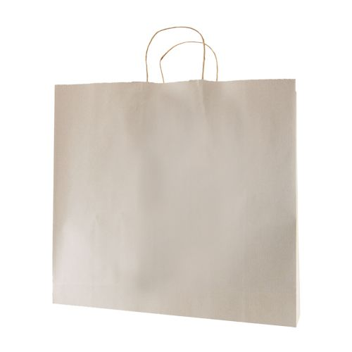 Stripped Tinted Kraft Shopping Bags - detailed view 11