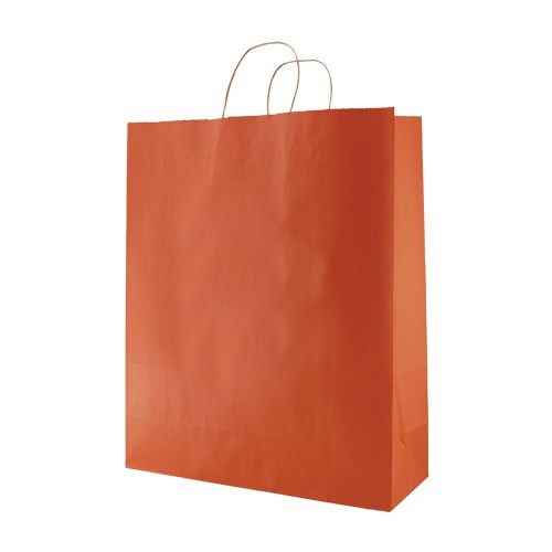 Stripped Tinted Kraft Shopping Bags - detailed view 12