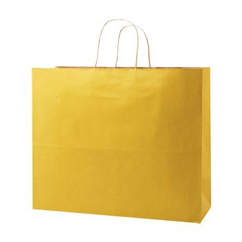 Stripped Tinted Kraft Shopping Bags - thumbnail view 9