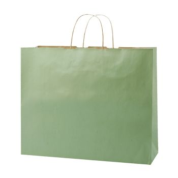 Stripped Tinted Kraft Shopping Bags - thumbnail view 10