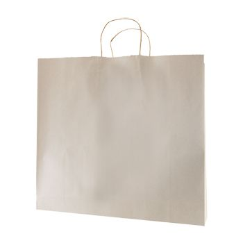 Stripped Tinted Kraft Shopping Bags - thumbnail view 11