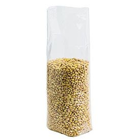 Polypropylene Bottom Gusset Bags - 11 X 20 + 4