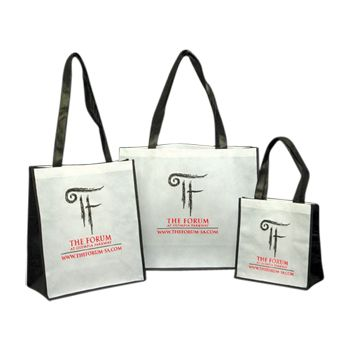 Imprinted Non-Woven Pp Shoppers - thumbnail view 1