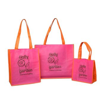 Imprinted Non-Woven Pp Shoppers - thumbnail view 4