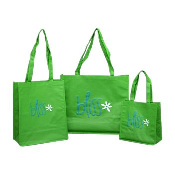 Imprinted Non-Woven Pp Shoppers - thumbnail view 5