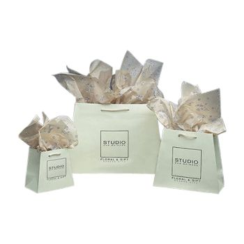 Imprinted Inverted Paper Trapezoid Bags - thumbnail view 3