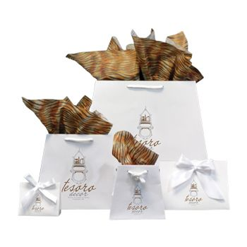 Imprinted Inverted Paper Trapezoid Bags - thumbnail view 5