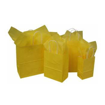 Imprinted Tints On White Kraft Bags - thumbnail view 1