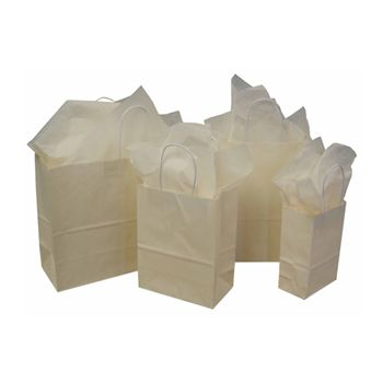 Imprinted Tints On White Kraft Bags - thumbnail view 4