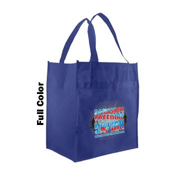 Imprinted Econo Grocery Totes - thumbnail view 1