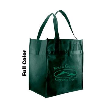 Imprinted Econo Grocery Totes - thumbnail view 3