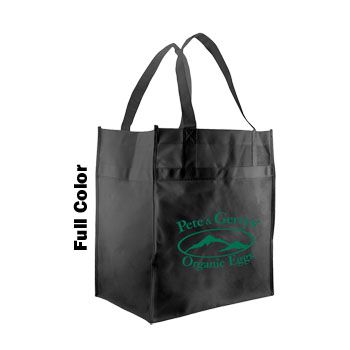 Imprinted Econo Grocery Totes - thumbnail view 4