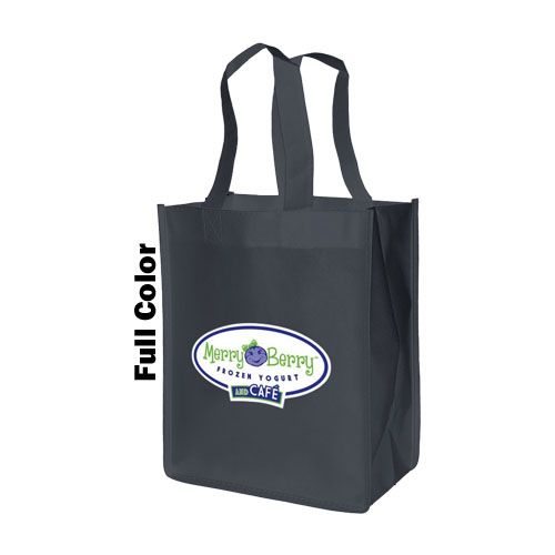 Imprinted Standard Totes - detailed view 2
