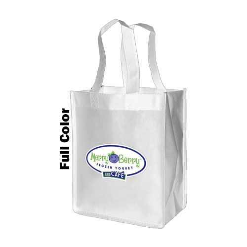 Imprinted Standard Totes - detailed view 3