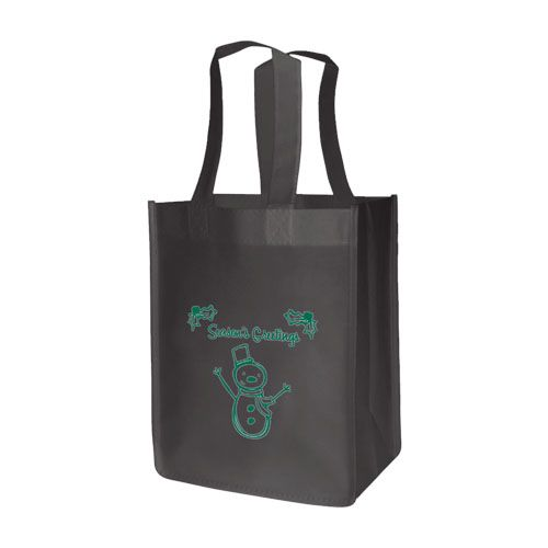 Imprinted Standard Totes - detailed view 4