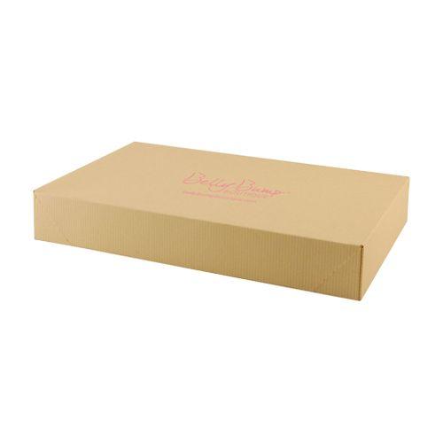 Imprinted Tinted Kraft Apparel Boxes - detailed view 2
