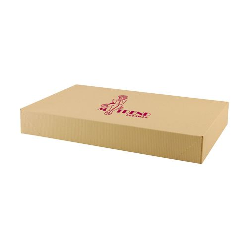 Imprinted Tinted Kraft Apparel Boxes - detailed view 4