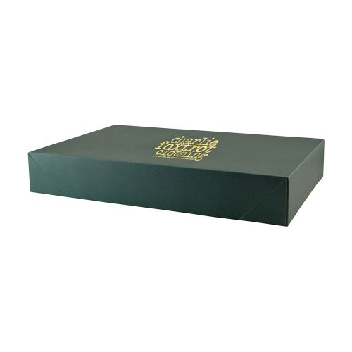 Imprinted Tinted Kraft Apparel Boxes - detailed view 5