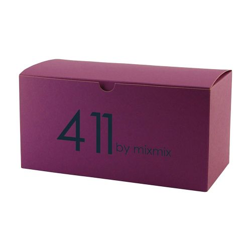 Imprinted Tinted Kraft Gift Boxes - detailed view 2