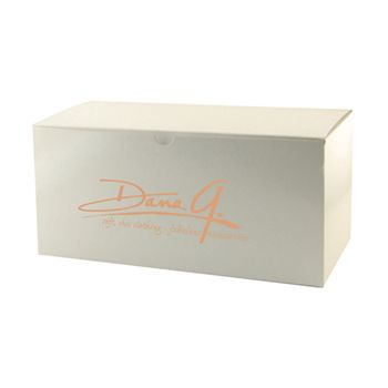Imprinted White Gloss Gift Boxes - thumbnail view 5