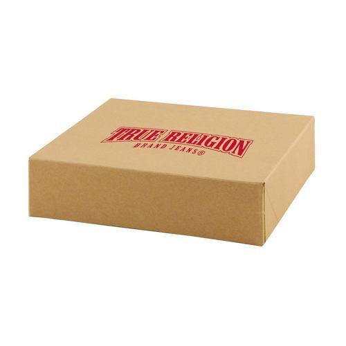 Imprinted Natural Kraft Gift Boxes - detailed view 3