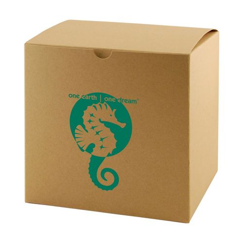 Imprinted Natural Kraft Gift Boxes - detailed view 6