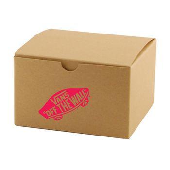Imprinted Natural Kraft Gift Boxes - thumbnail view 2