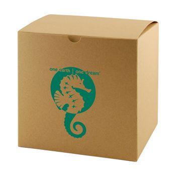 Imprinted Natural Kraft Gift Boxes - thumbnail view 6