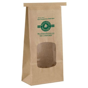Imprinted Coffee Bags w/ Window - thumbnail view 1