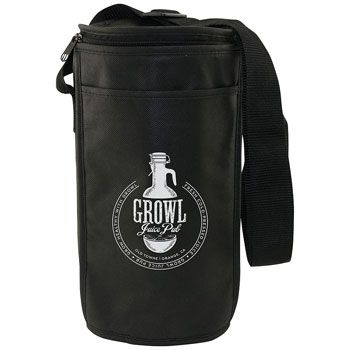 Imprinted Insulated Barrel Bag - thumbnail view 1