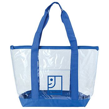Imprinted Clear Boat Tote - thumbnail view 2