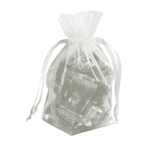 Gusseted Organza Pouches - detailed view 2