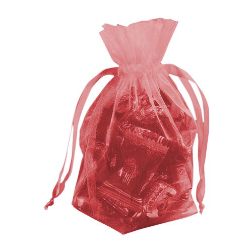 Gusseted Organza Pouches - detailed view 4